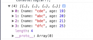 使用 sort方法根据数组中对象的某一个属性值进行排序-射手猫的个人博客